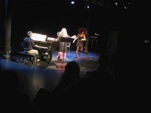 Louis Mendez (piano), Lisa Daehlin (performer), Flash Rosenberg (performer)