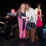 Lisa Daehlin and friend; Flash Rosenberg