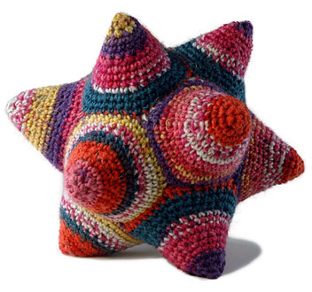 Dodecahedron, crochet